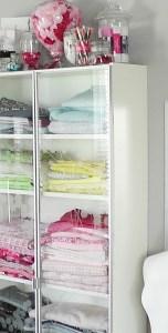 Stash of Sewing Fabrics